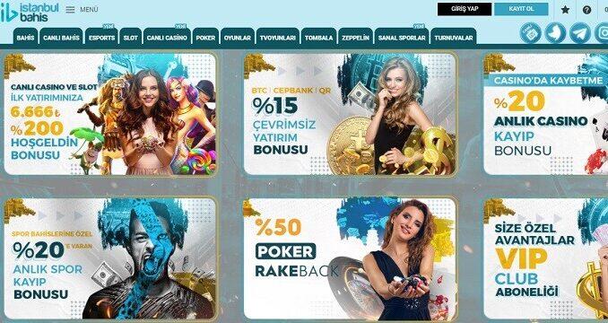 istanbulBahis bonus