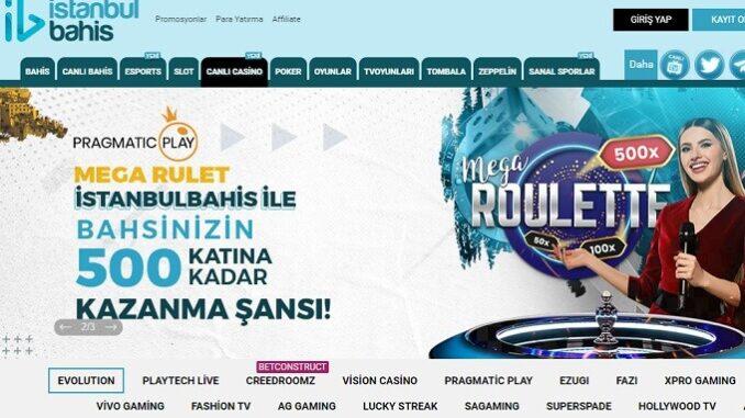 İstanbulBahis Canlı Rulet Oyunları